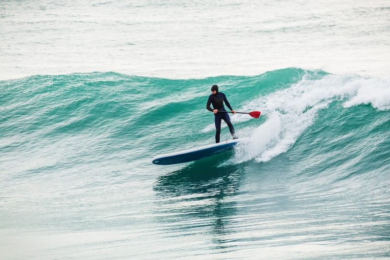 How to Catch a Wave on a Paddleboard