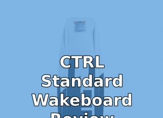 CTRL Standard Wakeboard Review: How Standard is it, Really?