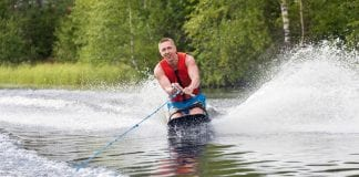 How to Get Up on a Kneeboard