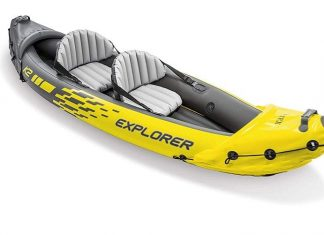 Intex Explorer K2 Inflatable Kayak Review
