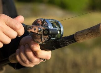 How to Put a Fishing Line on a Closed Face Reel