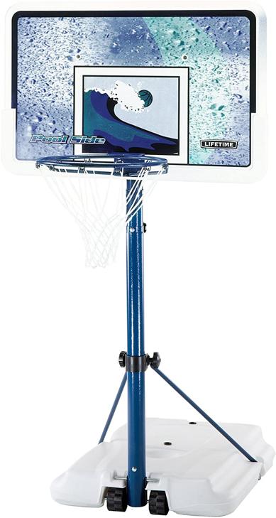 Lifetime Adjustable Poolside Basketball System