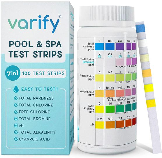 Varify Premium Pool Test Strips