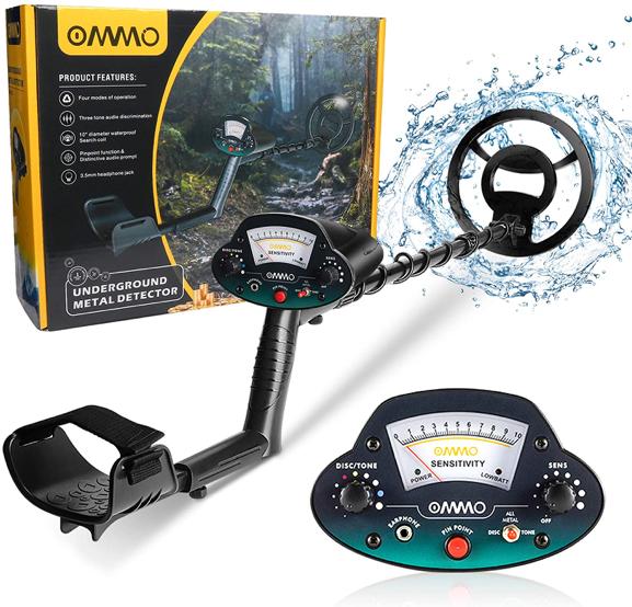 OMMO Metal Detector